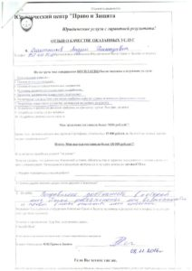 otzyv 08.11.2016 Reschetnikov Andrei Gennad'evich