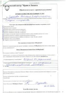 otzyv 20.09.2016 Hudaykova Svetlana Vladimirovna
